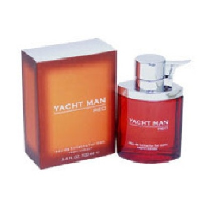 Yacht Man Red Cologne by Myrurgia 3.4oz Eau De Toilette spray for Men